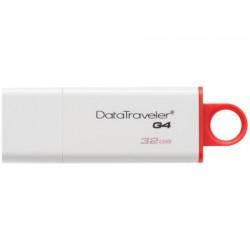 Флаш памет KINGSTON 32GB DataTraveler I G4 white/red USB 3.0 DTIG4/32GB