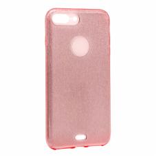 Гръб Crystal Dust Iphone 7 plus /8 plus - розов