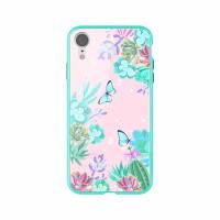 Гръб Nillkin Floral Iphone XR - зелен