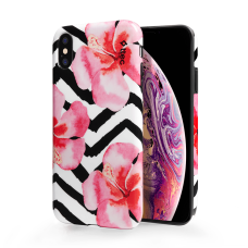 Гръб Artcase Iphone XS max - orchid