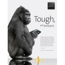 FULL Glue Gorilla Стъклен screen бял протектор за Samsung J7 2017 / J730