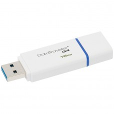 Флаш памет KINGSTON 16GB DataTraveler I G4 white/blue USB 3.0 DTIG4/16GB