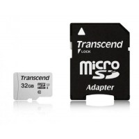 Памет Transcend 32GB UHS-I U1 microSDHC I, Class10 with Adapter TS32GUSD300S-A